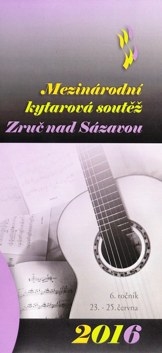 Mezinárodní kytarová soutěž Zruč n.S.
