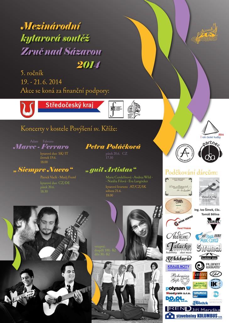 plakát soutěže 2014